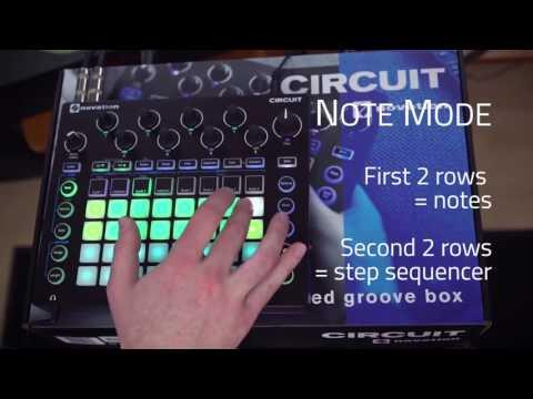 Novation Circuit Groovebox - Demo