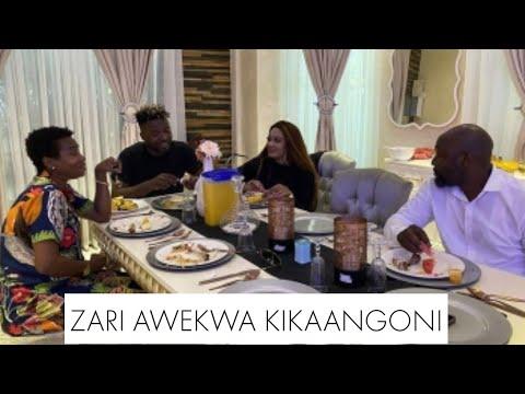 KIMENUKA ! Kinachooendelea Usiku Huu Nyumbani Kwa Diamond, Zari Amejuta Kuja, Awekewa Kikao kizito