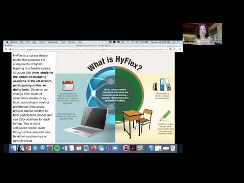 Introducing HyFlex Course Design - YouTube