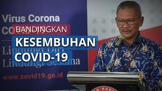 Achmad Yurianto Bandingkan Angka Kesembuhan Covid-19 di Indonesia dengan Negara Lain