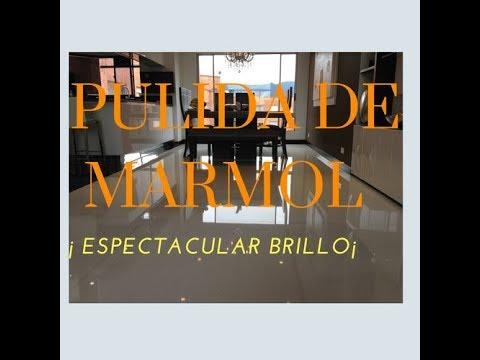 PULIDA, Y CRISTALIZADA DE MÁRMOL.