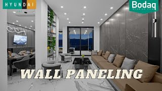 Wall Paneling Solution | Bodaq Interior Film as an Alternative to Prefabricated Wall Panels