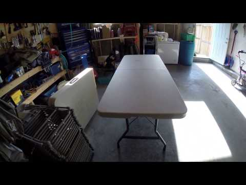 Costco 6 Foot Folding Table - Review and Overview