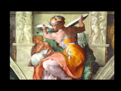 Микеланджело, потолок Сикстинской капелл
