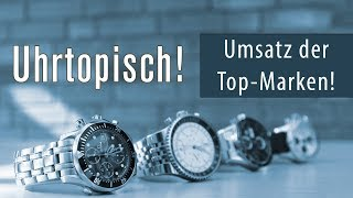 Uhrtopisch: Umsatz der Luxus-Uhren Top-Marken - hättet Ihr es gedacht?
