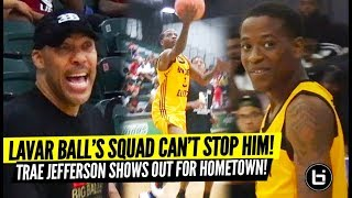 Lavar Ball's Squad Can't Stop Trae Jefferson! JBA vs Milwaukee All-Stars! Full Highlights!