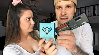 Diamond Testing My Fiancé's Engagement Ring FOR THE FIRST TIME!.. Yikes..
