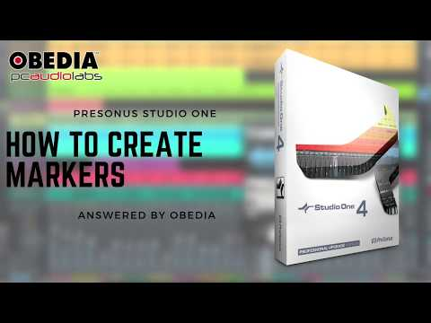 Get Started with Studio One: How to create markers in #StudioOne