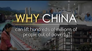 How did China lift hundreds of millions of people out of poverty?