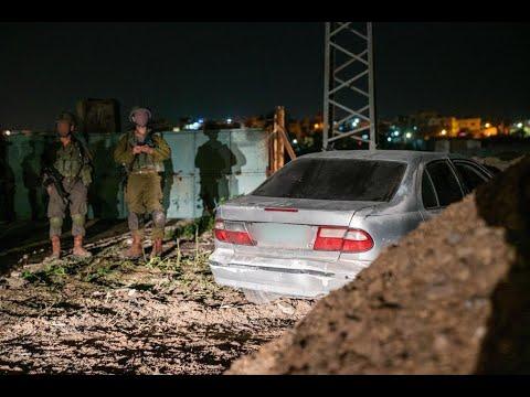 צפו: החשודים בפיגוע נעצרים