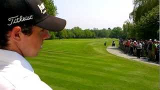preview picture of video 'Rory McIlroy, up close, Wentworth, May 23rd 2012'