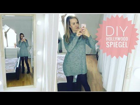 DIY beleuchteter Instagram Hollywood Schmink-Spiegel für 35 € (ohne Werkzeug)
