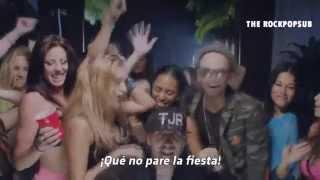 pitbull don't stop the party ft tjr sub  español