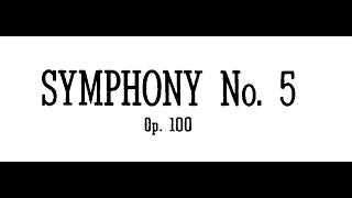 Prokofiev Symphony No. 5 in B-flat Major, Op. 100