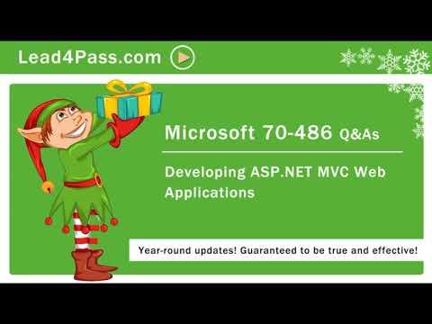 [2020.12] Latest Microsoft 70-486(exam dumps) practice questions ...
