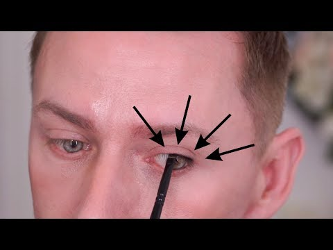 HOW TO MAKE TINY EYES STANDOUT! BIGGER EYES!