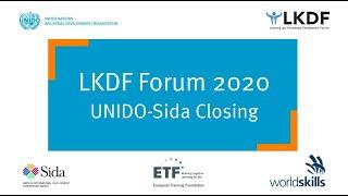 #LKDForum 2020 - UNIDO & Sida: Closing Ceremony (Day 2)