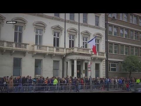 Η ψήφος των Γάλλων σε Βρετανία, Βέλγιο και Ισραήλ