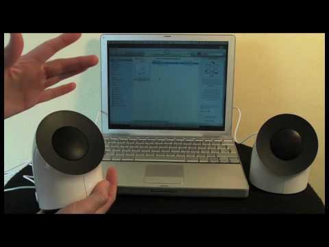 Lacie USB Speakers Review   Design by Neil Poulton