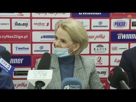 Zarząd Wigier Suwałki w pełnej krasie. Z pierwszą prezes w historii klubu o powrót do 1 Ligi