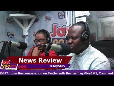 #JoySMS Newspaper Review on Joy FM (28-8-18)