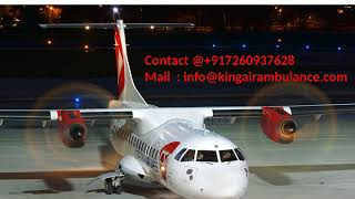 Hire King Air Ambulance Services in Bokaro and Ranchi with full Facility