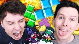 Dan vs. Phil - EXTREME TETRIS!