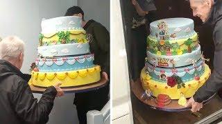 Amazing Disney Wedding Cake