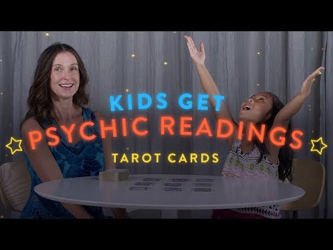 Kids Get Psychic Readings: Tarot Cards   Psychic Reads   HiHo Kids