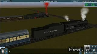 Trainz: the great Train race. The Polar Express vs demon 311