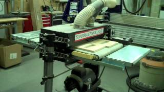 SuperMax 25x2 Double Drum Sander