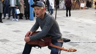 Korean Guitarist plays Mission Impossible Theme at Hongdae