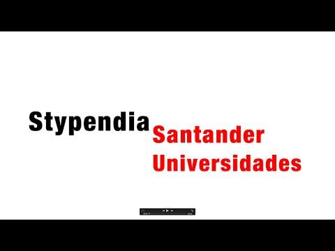 Stypendia Santander Universidades