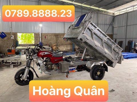 Địa chỉ bán xe ba bánh uy tín chất lượng nhất - xe lôi ba bánh giá tốt nhất thị trường LH 0842555247