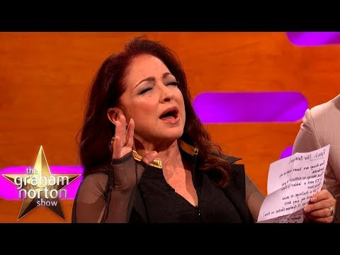 Download Gloria Estefan Sings New Lyrics Acapella | The Graham Norton Show HD Mp4 3GP Video and MP3