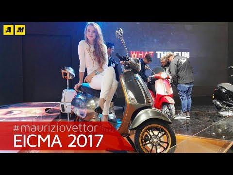EICMA 2017 - Piaggio Vespa Elettrica 2018