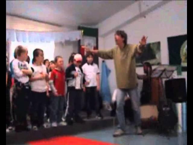 Covegno La parola ai poeti e ai bambini, scuola di Licenza