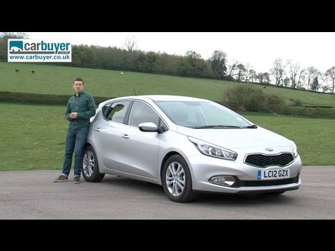 Kia Cee'd Hatchback Car Review Video