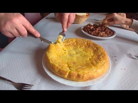 Las tortillas del bar de Tere en Berzosa del Lozoya, rico, rico...
