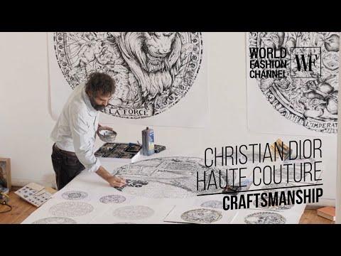 Christian Dior Haute Couture | Craftsmanship | Part 1