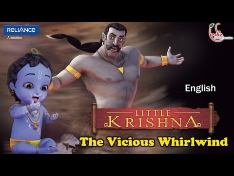 Little Krishna English - Episode 12 The Vicious Whirlwind