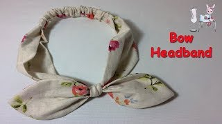 #DIY Bow Knot Headband | Tutorial