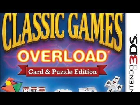 CGR Undertow - CLASSIC GAMES OVERLOAD: CARD & PUZZLE EDITION review for Nintendo 3DS