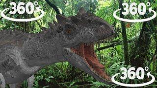 360 -  VR dinosaur ride with FUNBBTV