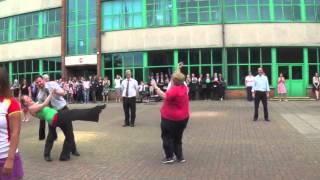 Flash Mob Barnwood Park Arts College July 2014