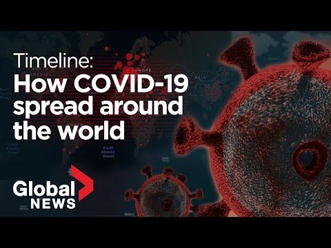 Coronavirus outbreak: A timeline of how COVID-19 spread around world