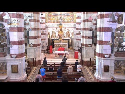 Laudes et Messe du 5 juin 2021 à Notre-Dame de la Garde
