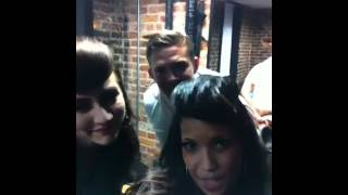 BACKSTAGE SHENANIGANS WITH KARMIN & CHRIS RENE