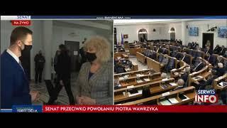 Kuriozalny wywiad TVP po głosowaniu ws. RPO