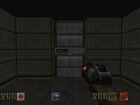 Doom 2 Mod Quake 2 Weapons Gameplay Part 1/4 Full - смотреть онлайн